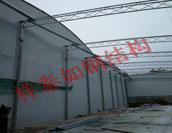 襄阳钢结构施工-工程案例
