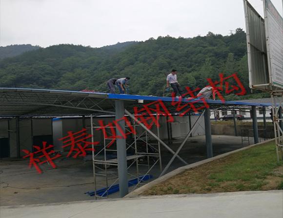 钢结构生产厂家-工程案例