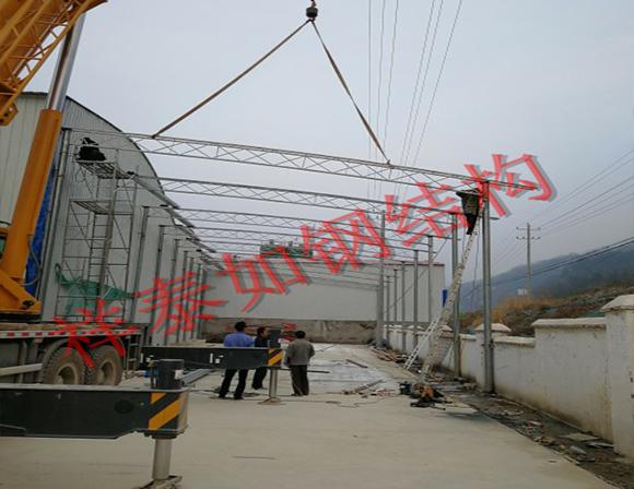 钢结构施工-工程案例