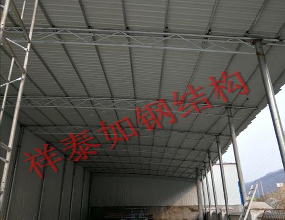 襄阳钢结构车间-工程案例