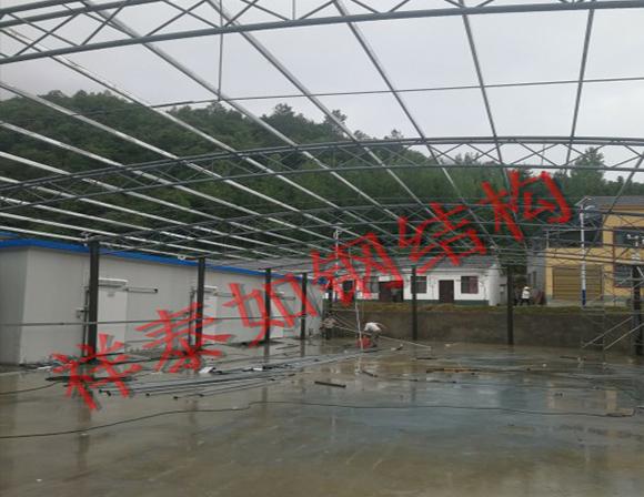 钢结构料棚厂家-工程案例