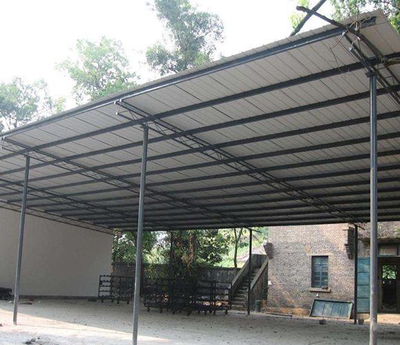 钢结构料棚